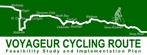 Voyageur Cycling Route Feasibility Study and Implementation Plan