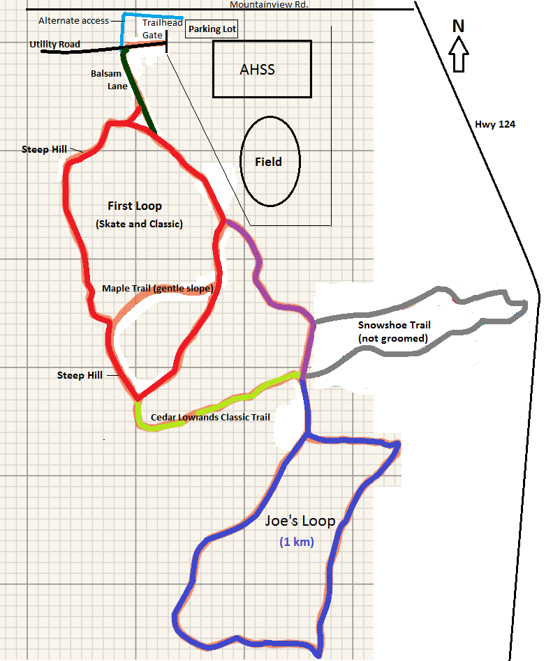 Almaguin Community Trails Map